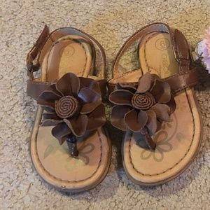 Toddler girls Cherokee sandals size 6